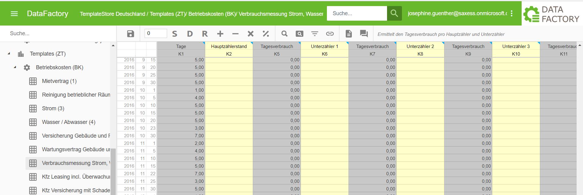 Datafactory-Vertragsmanagement-Templates