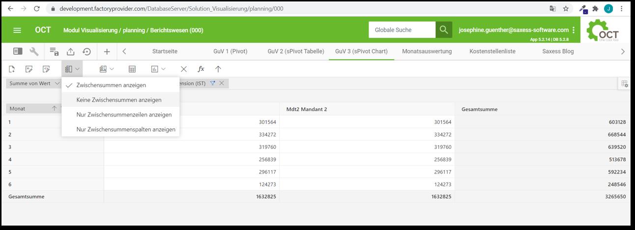 OCT Standardauswertung_sPivot_Chart_Design anpassbar